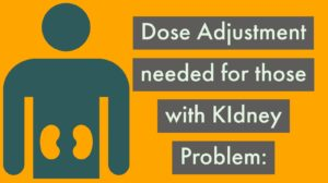 tramadol dose adjustment needed for Kidney problem